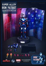 Iron Man 3 Iron Patriot Super Alloy 1/12 Scale Figure -- NOV132161