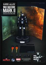 Iron Man 3 War Machine Mark 2 Super Alloy 1/12 Scale Figure -- NOV132162