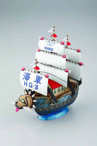 One Piece Gsc #08 Garps Marine Ship Model Kit -- Bandai -- NOV132180