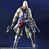 Assassins Creed III Play Arts Kai Connor Action Figure -- NOV132189