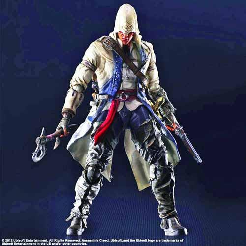 Assassins Creed III Play Arts Kai Connor Action Figure -- NOV132189