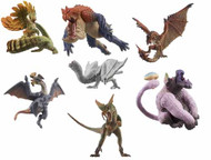 Monster Hunter Mascot Trad Figure 10Pc Display G9 -- Bandai -- NOV132191