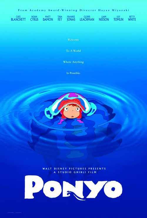 Ponyo DVD -- Disney -- NOV132233