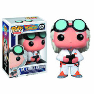 Pop Back To The Future Doc Brown Vinyl Figure -- NOV132263