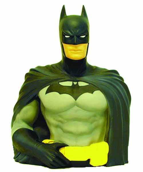 Batman Bust Bank -- Dark Knight DC Comics -- NOV132277