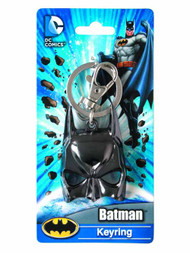Batman Mask Black Electroplated Pewter Keyring--Dark Knight -- NOV132280