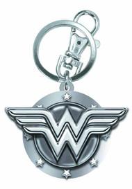 Wonder Woman Symbol Pewter Keyring -- Dark Knight DC Comics -- NOV132281