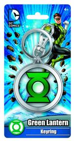 Green Lantern Symbol Colored Pewter Keyring -- NOV132282