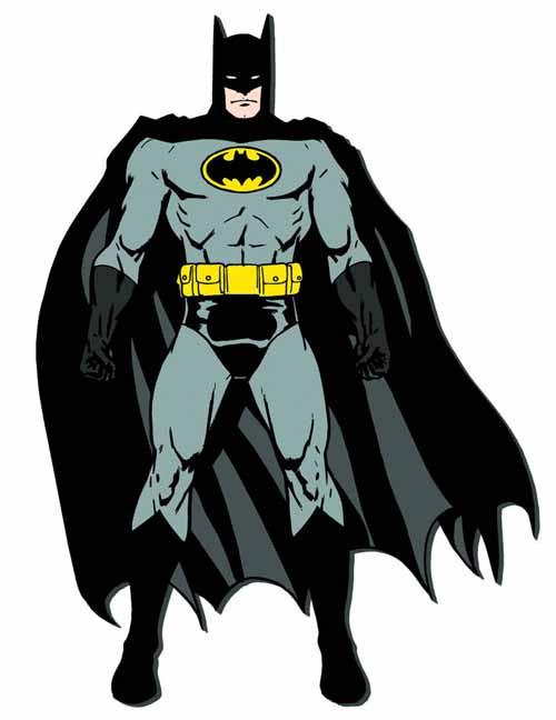 Batman Soft Touch Car Magnet -- Dark Knight -- NOV132284