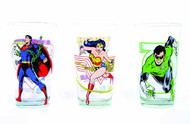 Toon Tumblers Superman Clear Pint Glass -- DC Comics -- NOV132285