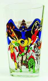 Toon Tumblers Teen Titans Pint Glass -- DC Comics -- NOV132288