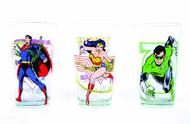 Toon Tumblers Wonder Woman Clear Pint Glass -- DC Comics -- NOV132290