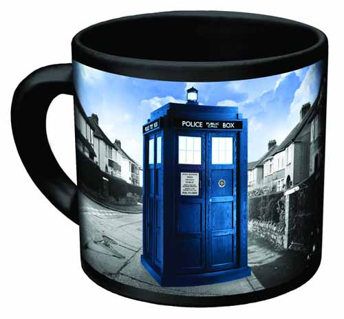 Doctor Who Disappearing Tardis Mug -- NOV132295