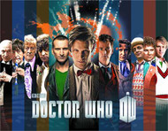 Doctor Who Doctors Collage Tin Wall Sign -- NOV132299
