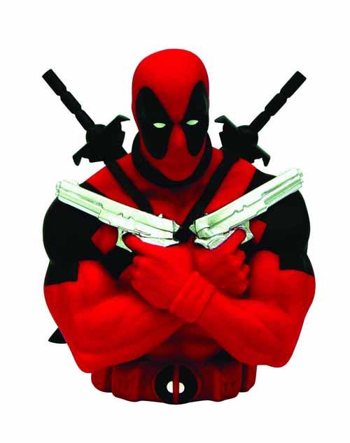 Deadpool Bust Bank -- Marvel Comics -- NOV132300