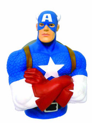 Captain America Bust Bank -- Avengers Marvel Comics -- NOV132301