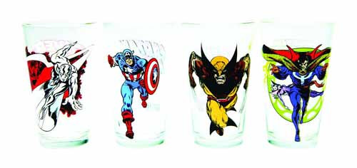 Toon Tumblers Doctor Strange Clear Pint Glass -- Marvel -- NOV132308