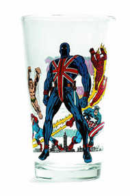 Toon Tumblers Invaders Pint Glass -- Marvel Comics -- NOV132311