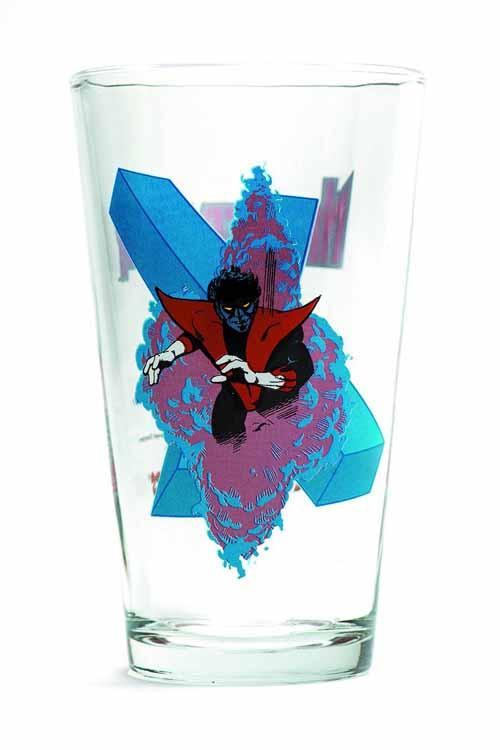 Toon Tumblers Nightcrawler Pint Glass -- Marvel Comics -- NOV132314