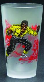 Toon Tumblers Power Man Pint Glass -- Marvel Comics -- NOV132316