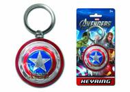 Avengers Captain America Shield Pewter Keyring -- Avengers -- NOV132319