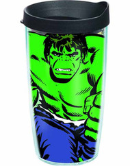 Tervis Classic Hulk Wrap with lid 16oz Tumbler -- Avengers -- NOV132326