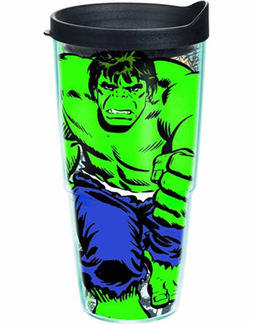 Tervis Classic Hulk Wrap with lid 24oz Tumbler -- Avengers -- NOV132327