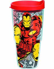 Tervis Classic Iron Man Wrap w/ lid 24oz Tumbler --Avengers -- NOV132331