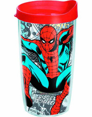 Tervis Classic Spider-Man Wrap with lid 10oz Tumbler -- NOV132332