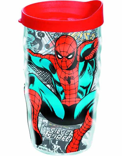 Tervis Classic Spider-Man Wrap with lid 10oz Wavy Tumbler -- NOV132333