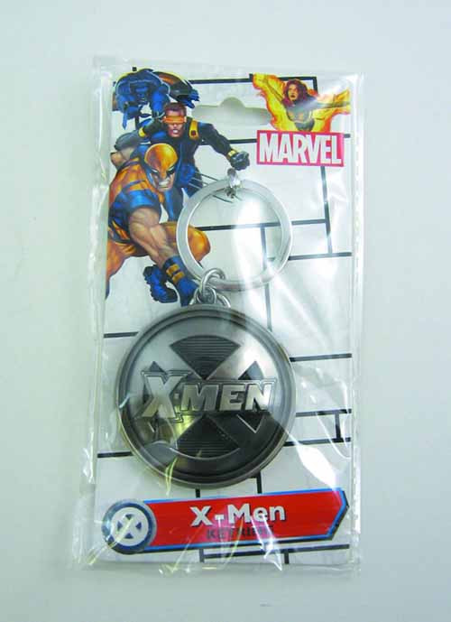 X-Men Symbol Pewter Keyring -- Marvel Comics -- NOV132339