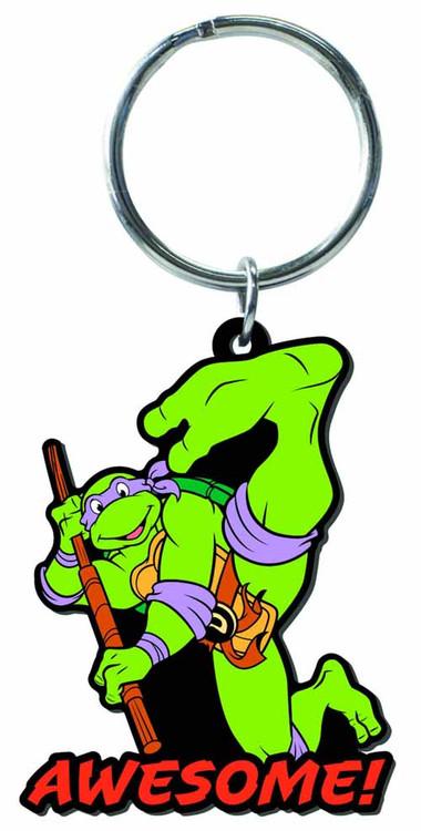 Teenage Mutant Ninja Turtles Donatello Soft PVC Keyring -- NOV132365