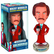 Anchorman Ron Burgundy Talking Wacky Wobbler -- NOV132367