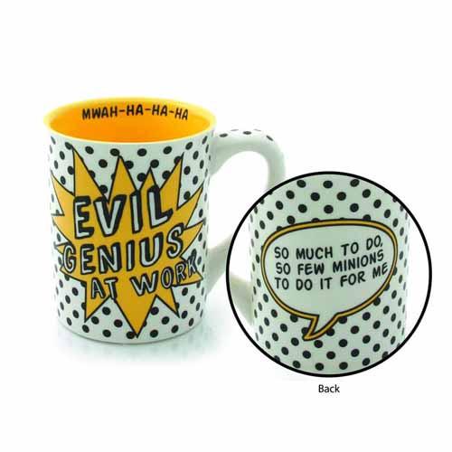 Our Name Is Mud Evil Genius Mug -- NOV132384