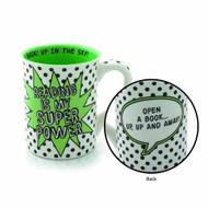 Our Name Is Mud Super Power Mug -- NOV132385