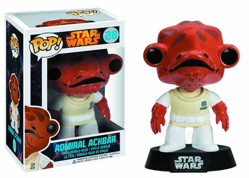 Pop Star Wars Admiral Ackbar Vinyl Figure -- NOV132425
