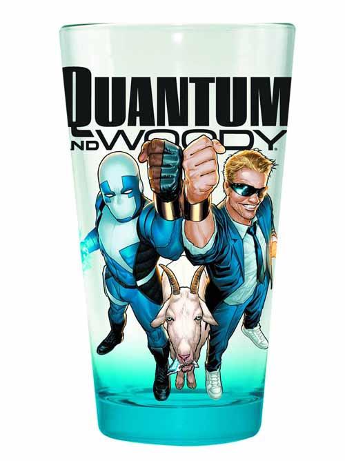 Valiant Quantum & Woody Clear Pint Glass -- NOV132440