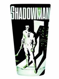 Valiant Shadowman Clear Pint Glass -- NOV132441