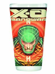Valiant X-O Manowar Clear Pint Glass -- NOV132442