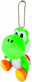 Super Mario Bros Yoshi 5in Plush Keychain -- Nintendo -- NOV132450
