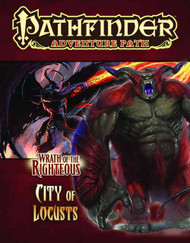 Pathfinder Adv Path Wrath o/t Righteous Pt6 City Of Locusts -- NOV132530