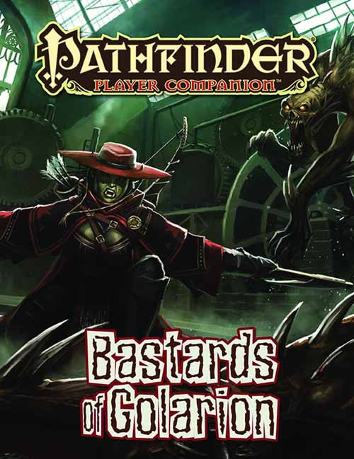 Pathfinder Player Companion Bastards Of Golarion -- NOV132533