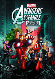 Marvels Avengers Assemble DVD Assembly Required -- Disney -- NOV132539
