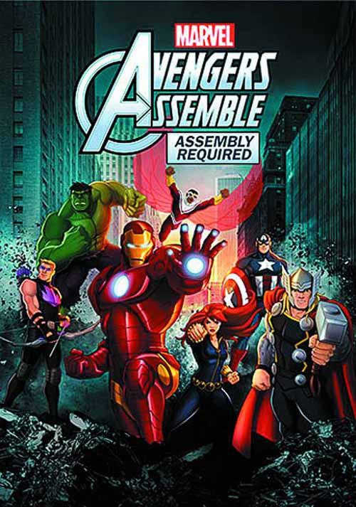Marvels Avengers Assemble DVD Assembly Required -- Disney -- NOV132539