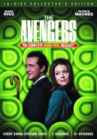 Avengers Emma Peel Megaset DVD -- NOV132578