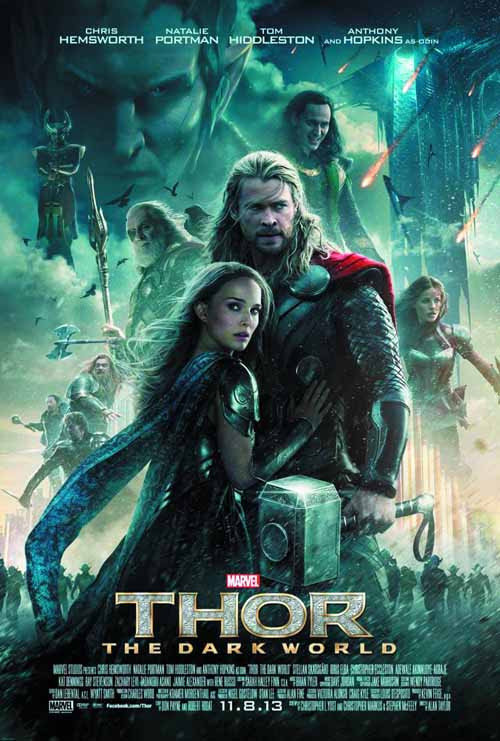 Thor The Dark World BD + DVD -- Avengers Marvel Comics -- NOV132601
