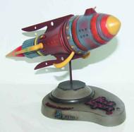 Buck Rogers Battle Cruiser Space Ship Desk Model -- OCT121675
