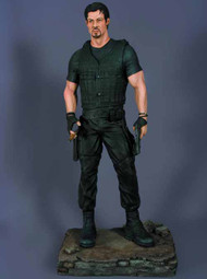 Expendables Barney Ross 1/4 Scale Statue -- Stallone -- OCT121697