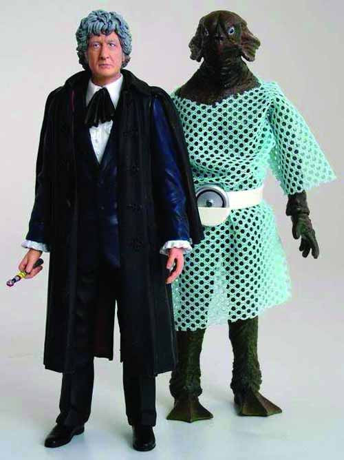 Doctor Who Classic 3rd Doctor 2-Pack 6-Piece Assortment -- OCT121764