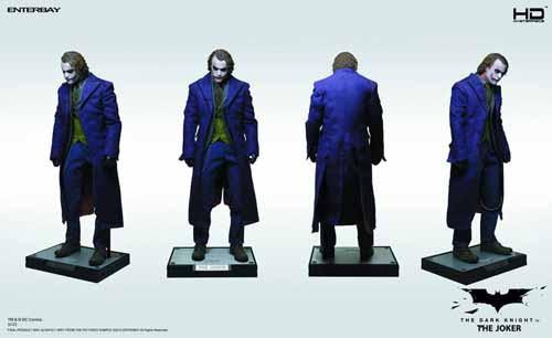 Dark Knight Joker HD Masterpiece Action Figure -- Enterbay -- OCT121774